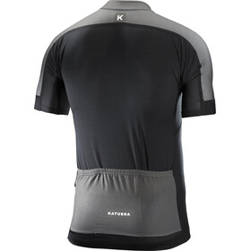 KATUSHA Icon SS Jersey Herr black grey